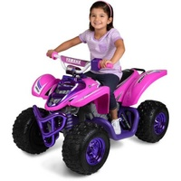 Yamaha 12 Volt Raptor ATV Ride On Girls
