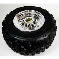 Wheel Rear To Suit 12 Volt EC-1708 Raptor (With Wheel Cover Plugs)